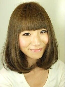 ミンクヘアーデザイン(mink hair design)の写真/髪質・骨格・ライフスタイルまで考慮したベストな仕上がりに満足度120%★流行もしっかり抑えたモテ髪に♪