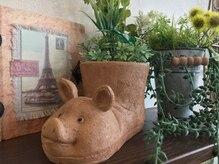 アグー(AgU-)の雰囲気(ヨーロッパで黒豚は幸せの象徴。皆さまが幸せになりますように…)
