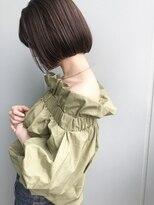 ベラドルチェ(Bella Dolce)首を綺麗に見せる似合わせカットをブルージュで柔らかく