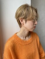 ヘアー メイツ ニューヨーク 学芸大学(Hair Mates NewYork)ハイトーンショート 白髪ぼかし