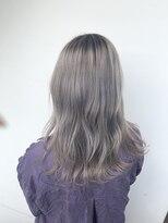 サロンドミルク 溝の口店(salon de MiLK)smoky blonde