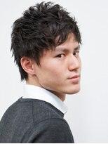 ベンケイ(HAIR AVENUE benkei)【刈り上げなし】くせ毛風ナチュラル束ショート