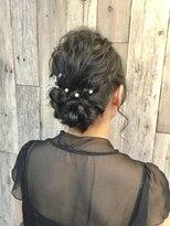 ヘアースペース ムーン(Hair Space MOON)結婚式やパーティー イベントのヘアセットはムーンにどうぞ!
