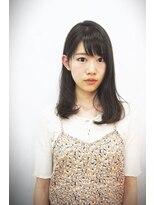 エトネ ヘアーサロン 仙台駅前(eTONe hair salon)【eTONe】日常のセミディスタイル