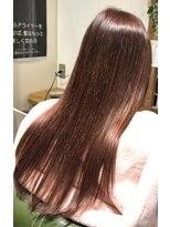 ローグヘアー 亀有店(Rogue HAIR)ラズベリーピンクデザインカラー