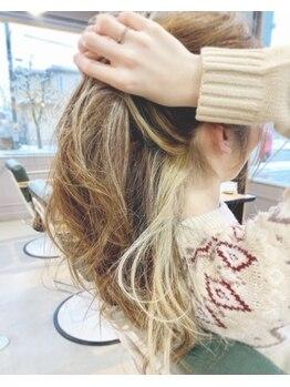 コンチネンタルヘア(continental hair)の写真/【新規★ALL Menu20%オフ】髪にも地球にも優しい、本物のオーガニックカラー♪真の美しさ、美髪を貴方に。