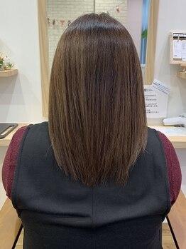 リーブル(Libre)の写真/他店との違いを実感できる!「髪質改善のプロ」が厳選したトリートメントで、ダメージヘアもサラツヤに☆