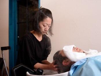 グルーヴ ヘアステージ(Groove.hs)の写真/【理容店の高技術】頭皮環境改善!季節に合わせたメニューをご用意。極上のスパ体験で癒される…