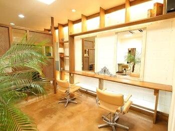 オーガニックヘアサロンフォーユー(Organic Hair Salon for you)の写真/【千里中央駅】温かみのあるブラウンを基調としたほっと落ち着ける空間。上質な安らぎtimeのご提供♪