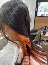 ニコカ(Nicoca)インナーカラーオレンジ♪