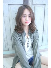 ヘアーモードケーティー 塚本店(Hair Mode KT)【Hair Mode KT】 カジュアルシースルーヘアー