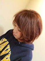 モイヘアーデザイン(moi hair design)ナチュラルピンクグラデ