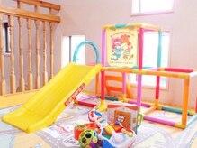 ルルマル(lulumalu private salon)の雰囲気(3階にはキッズスペースあります。ママさんも大歓迎♪)