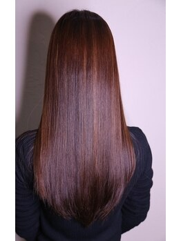 ラバフロー 小野原店(LAVA FLOW)の写真/生活のあらゆる場面から髪を守る!!髪のハリコシUP☆キューティクルの毛羽立ちを感じない理想のツヤ髪に♪