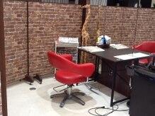 ヘアーメイク カリユ(HAIR MAKE kariyu)の雰囲気(広々とした個室で安心♪フルフラットのシャンプー台もご準備)
