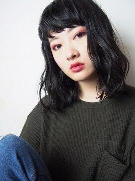 アリシア(arishia)黒髮×横揺れウェーブ