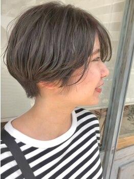 ヘアデザインハレ(hair design HARE)の写真/高い技術が作り上げる美フォルムを体験☆「お手入れ簡単」でも「オシャレ」を同時に叶える万能スタイル