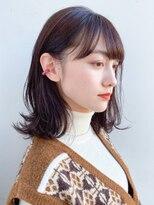 ガーデントウキョウ(GARDEN Tokyo)【GARDEN荒井夏海】鎖骨ふんわりレイヤーボブ×小顔前髪