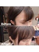アフロート ワールド 渋谷(AFLOAT WORLD)【AFLOAT】《守道》前髪・顔周り割れない!BeforeAfter
