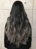 アールプラスヘアサロン(ar+ hair salon)シールエクステグラデーション3Dカラー