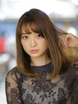 ヘアメイクサロン ブーム ヘアデザイン(boom hair design)の写真/【カット+ヘッドスパ(15分)】ご要望に合わせて伸ばし途中でもマンネリしない360°美しい艶髪をご提案!