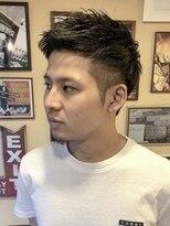 オムヘアーフォー(HOMME HAIR 4)ジェットモヒカンショート【HOMME HAIR4 熊田】