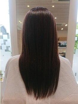 ナンシー 萩店(Nancy)の写真/理想のサラツヤ髪へと導きます☆【髪質改善トリートメント¥6600~】