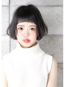 ヘアサロン ガリカ 表参道(hair salon Gallica)☆ ショートバング × グラデーション ☆ bob スタイル