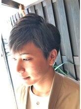 プーパヘアー(pupa hair GENTLEMAN'S GROOMING SALON)ナチュラル2ブロックヘアー