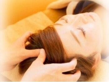 髪物語の写真/PC・スマホの長時間使用で首・肩のお疲れの方必見!ヘッドセラピストによる本格的な施術で極上の癒しを♪
