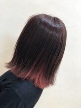 ヘアーブランシェ 貝塚店(HAIR Branche)ピンク系インナーカラー♪