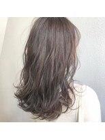 アレッタ ヘア オブジェ(ALETTA HAIR objet)透明感のあるグレージュブラウン【沖野紘大】