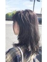 [loomisbuzzhair] ローレイヤー、バイオレット系カラー