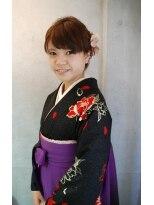 卒業式の【2013卒業式】袴スタイル画像