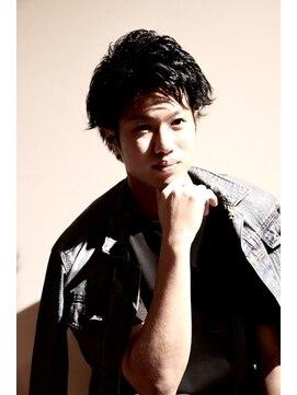 メンズヘアースパイス ユメサキ(Men's Hair SPICE -yumesaki-)ルーズパーマショート