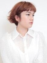 ピークアブー 表参道(PEEK A BOO)ナチュラルひし形デジタルパーマ毛先パーマ黒髪ことりベージュ