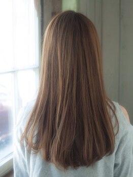 ヨーロー(YOLO)の写真/<YOLO五反田>髪質診断でクセの原因を見極め、ダメージレスな艶やかなナチュラルストレートを実現◎