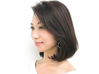 ラヴェスト 二子玉川(LOVEST by air)の写真/髪質・ダメージヘアでお悩みの女性から圧倒的な支持!定期的なカラーだからこそ、こだわり続けたい♪