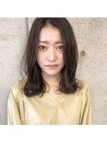 ツミキ ヘアーデザイン(TSUMIKI hair design)ゆるふわミディアム
