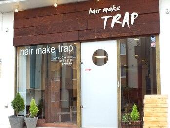 ヘアメイク タラップ(hair make trap)の写真/3席のみの隠れ家サロン☆初めての方でも入りやすい雰囲気が嬉しい♪リラックスしながら理想のスタイルに!