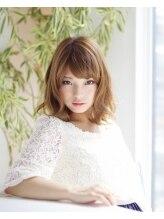 アロマヘアールーム 新宿店(AROMA hair room)外国人風 ふわふわミディアム♪