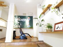 髪切屋さん テテソウエン(Tete soen)の雰囲気(シャンプーブースでもゆったりとした時間を楽しんでください。)