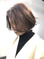 チクロヘアー(Ticro hair)【ticro大石】モカボブ