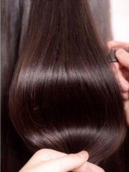 """ヘアードレスアップラグゼ(Hair Dressup LUXE)の写真/大人気!!のTOKIOトリートメントで話題の""""髪質改善""""を♪TOKIOトリートメント付きクーポン多数ご用意◎"""