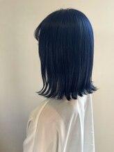 ヘアーアトリエ カノル(hair atelier canol)【canol】*外ハネBOB×BLUE*