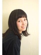 ルーラル ヘア デザイン(Lural hair design)外ハネスタイル