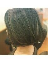 ピースナンバ(PEACE NAMBA)外国人風カラー国際美容師清水