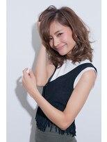 ヘアサロン レア(hair salon lea)【LEA赤羽☆山本】フェミニンルーズウェーブ愛されオフェロ