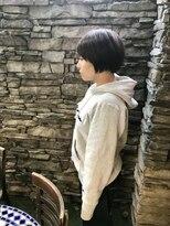 リリー(LiLy)黒髪シンプルショート