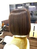 ヴィオレッタ ヘアアンドスペース(VIOLETTA hair&space)ボブ×ローライト×白髪染め